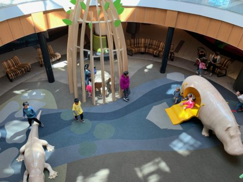 Safe Flooring For Shopping Malls Indoor Play Ground
