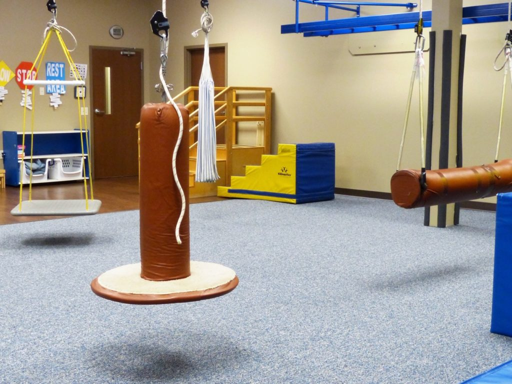 Physical Therapy Center with SafeLandings protective flooring system.